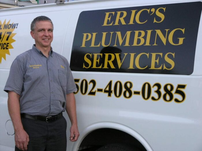 Eric's plumbing, residential plumbing services in Louisville Kentucky