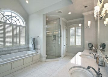 Bathroom remodel and renovation image